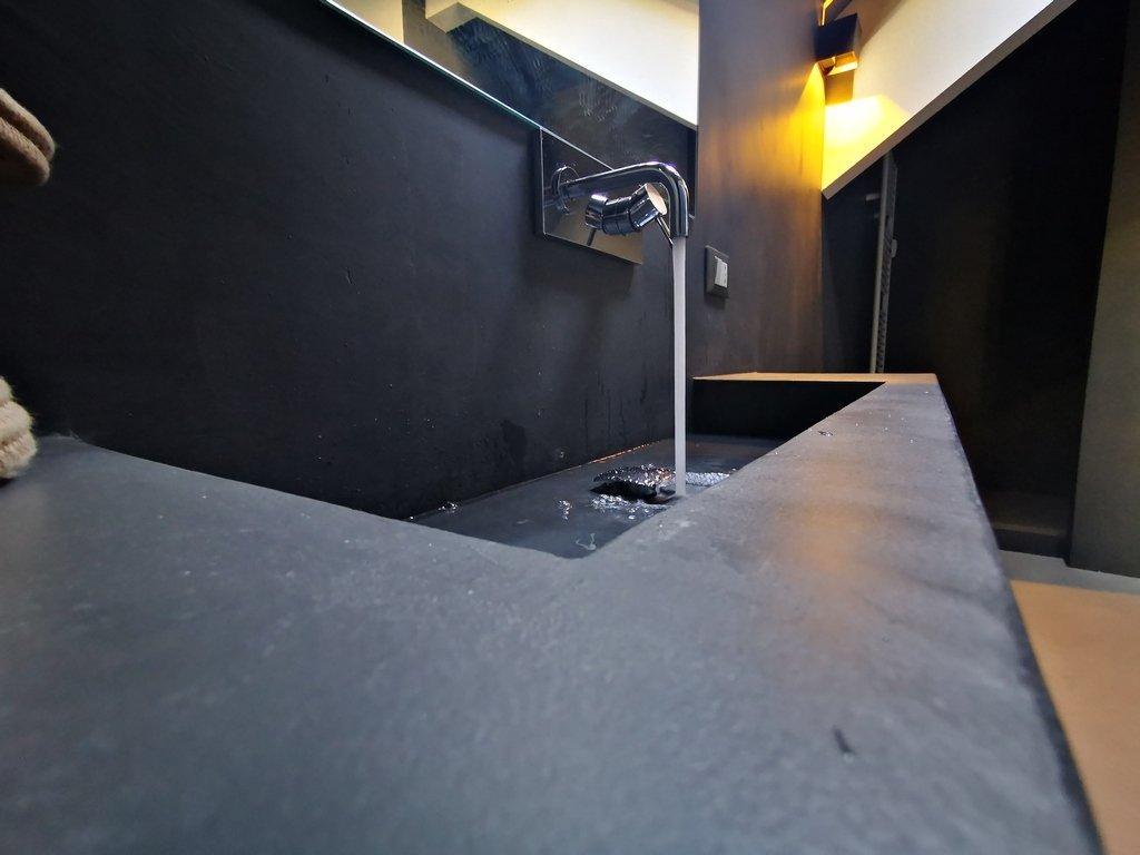 lavandino microcemento